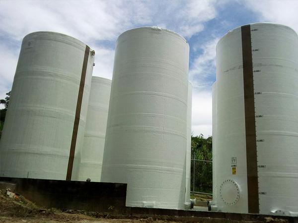 tanques fibra vidrio